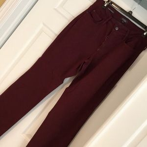 Not Your Daughter's colored jeans